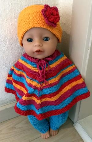 2b08f9a6 Strikkeopskrifter til BabyBorn dukke