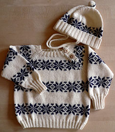 Børnestrik Cotton Wool